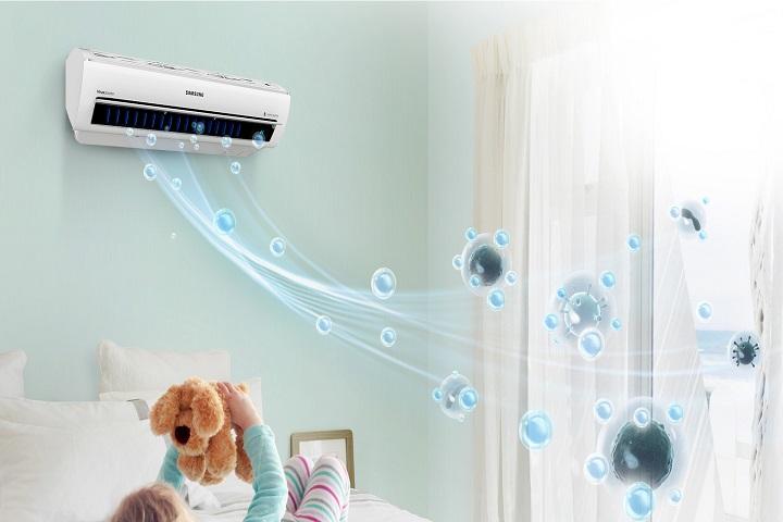 sử dụng máy lạnh vào ban đêm